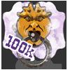 100,000 visits