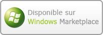 Disponible sur Windows Marketplace